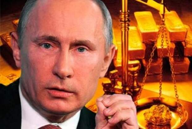 """Золотой """"червонец"""" Путина отправит usd/euro в нокаут"""