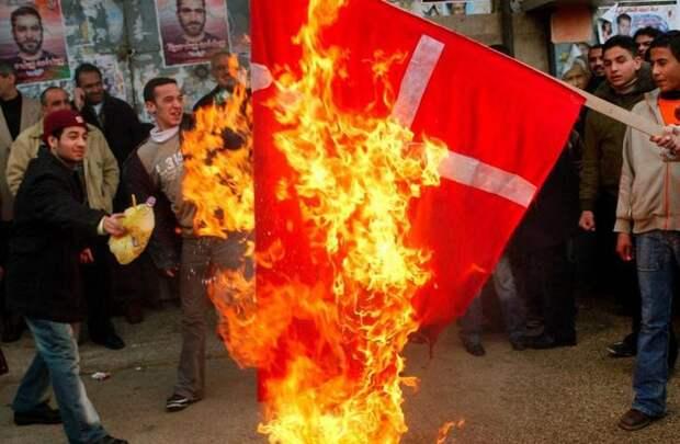 9. В какой стране запрещено сжигать любой флаг, кроме собственного? закон, факты