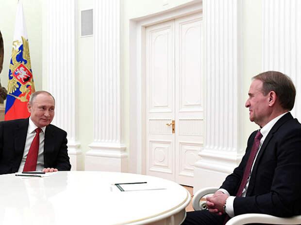 СНБО: Кума Путина Медведчука могут обменять на отправленных в российские тюрьмы украинцев