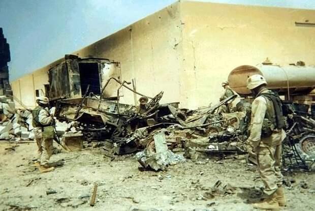 Американскую военную базу атаковали в Сирии