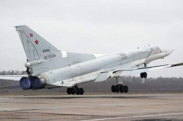 Версия Avia.pro: российский Ту-22М3 мог отработать условное уничтожение баз НАТО в Средиземном море