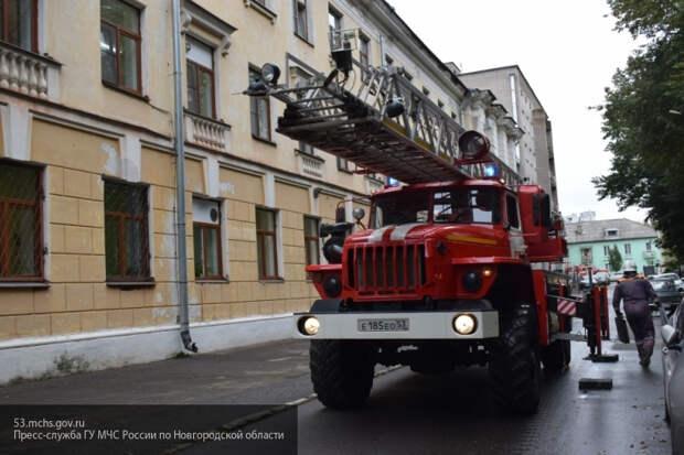 Пожар уничтожил четыре из пяти этажей ТЦ во Владивостоке