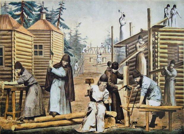 Зачем на Руси некоторые церкви строили за один день