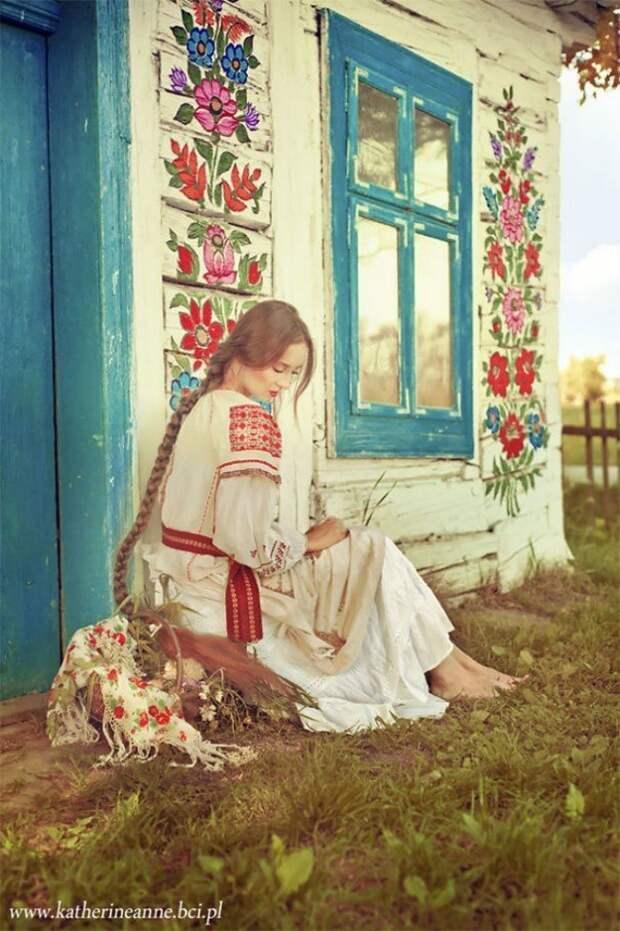 Славянская сказка, воплощенная фотографом в реальность