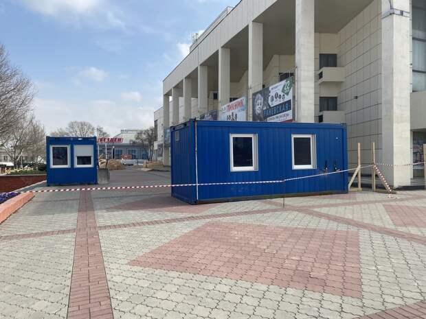 В Симферополе начали благоустраивать площадь Ленина