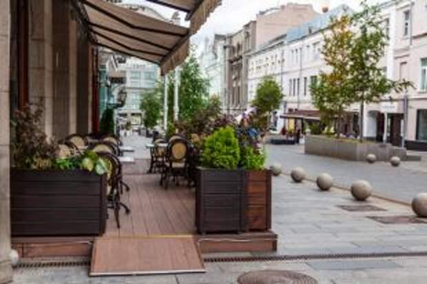 Когда в Москве откроются летние веранды кафе и ресторанов?
