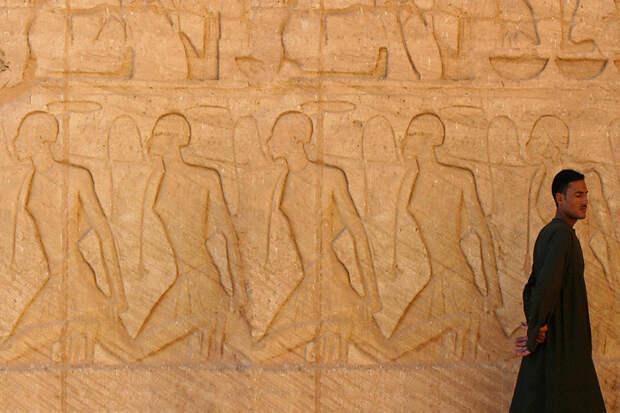 Фрески в Великом Храме Абу Симбела, Египет красота, путешествия, фото