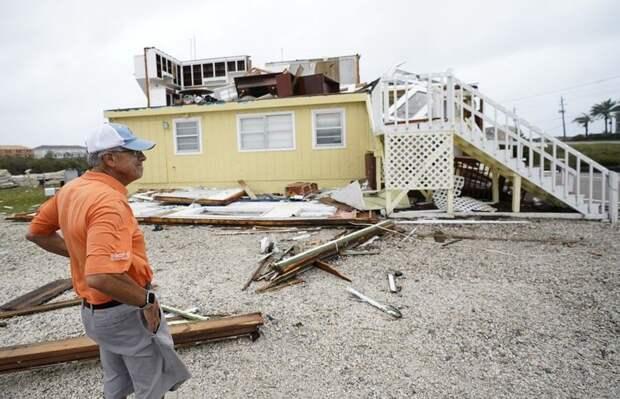 В США продолжаются наводнения, вызванные ураганом «Салли»
