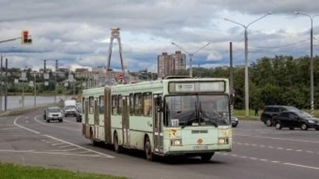 """По Череповцу будут курсировать автобусы с """"гармошкой"""""""