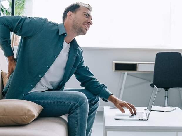 Как разгрузить спину после длительного переезда или сидячей работы