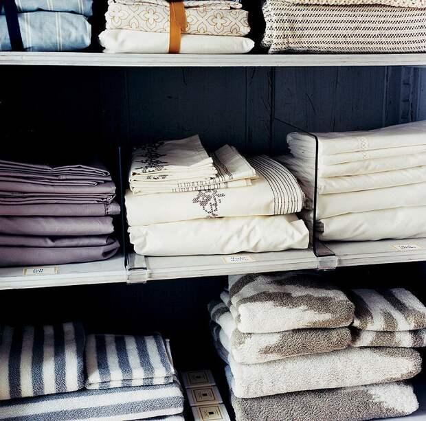 В запасе всегда должен быть чистый текстиль. / Фото: domovod.guru