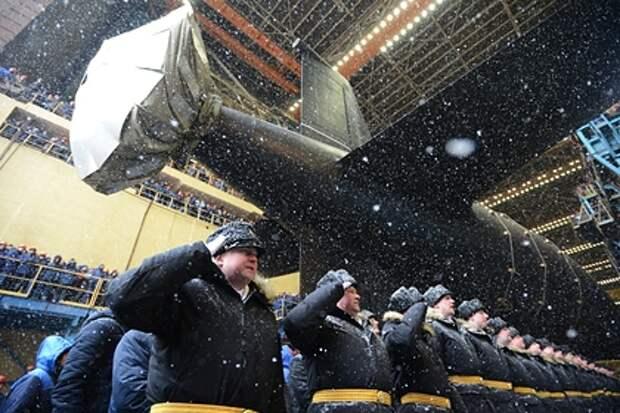 Атомная подлодка «Казань» вошла в состав ВМФ России