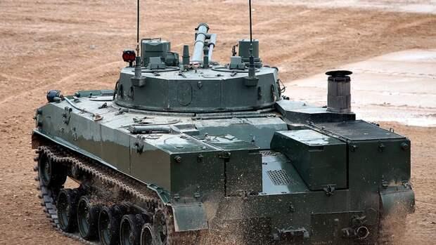 Военнослужащие Ивановского соединения ВДВ задействовали на учениях новые БМД-4М