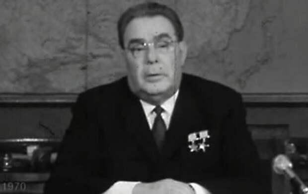 Новогодние обращения Л.И. Брежнева