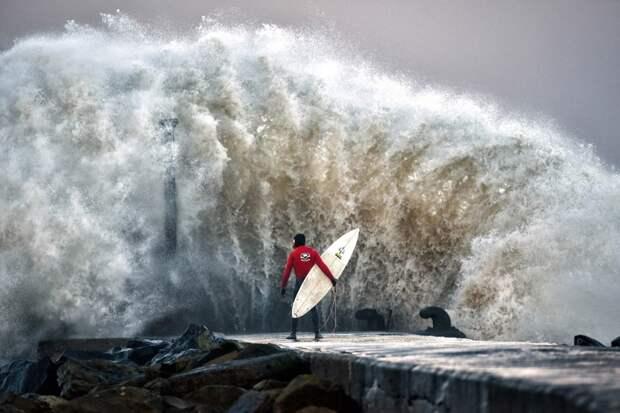 Огромные волны