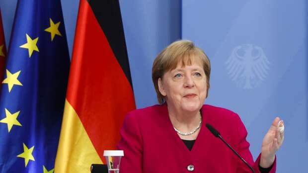 Канцлер Германии назвала обстрелы Израиля террористическими атаками