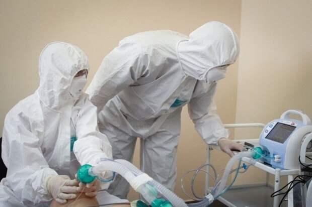 В Крыму 109 больных коронавирусом находятся в тяжелом состоянии