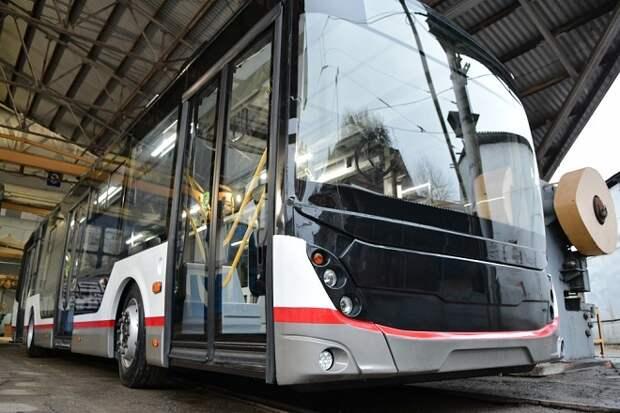 В Краснодаре будут выпускать троллейбусы с автономным ходом