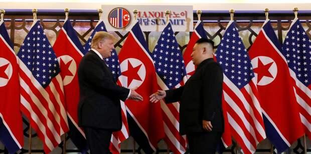 Второй саммит Трампа и Кима: «Мы пожали друг другу руки и решили пока разойтись»