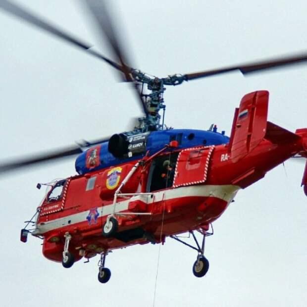 Вертолеты Московского авиацентра приступили к мониторингу пожароопасной обстановки
