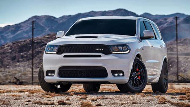 На радость детям: Dodge представил убойный Durango SRT