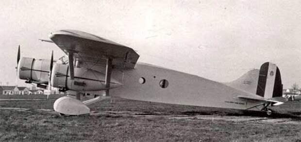Самолет Caproni Ca.133