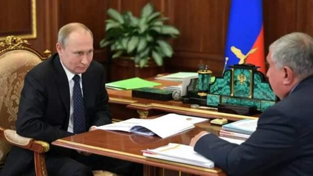 Путин отметил перспективность проекта «Восток Ойл»