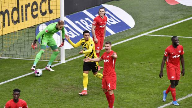 Дортмундская «Боруссия» обыграла «Лейпциг» и одержала пятую победу подряд в Бундеслиге