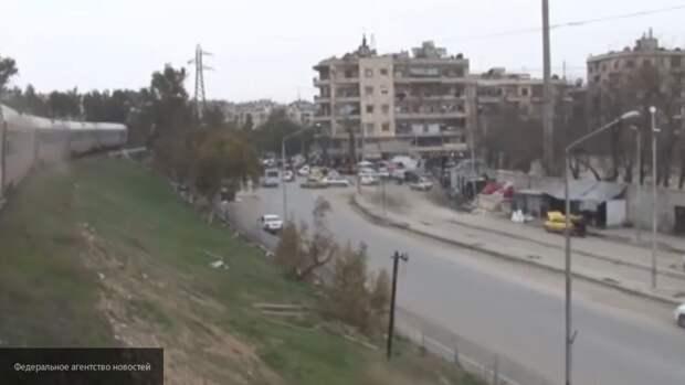 Правительство Асада при поддержке Военной полиции РФ восстанавливает правопорядок в Сирии