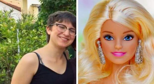 Родители запрещали дочке играть в Барби, но она нашла выход. Пара лет — и девушка сама стала копией куклы