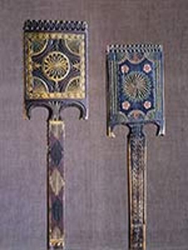 Прялка. Вологодская губ, из собрания Русского музе