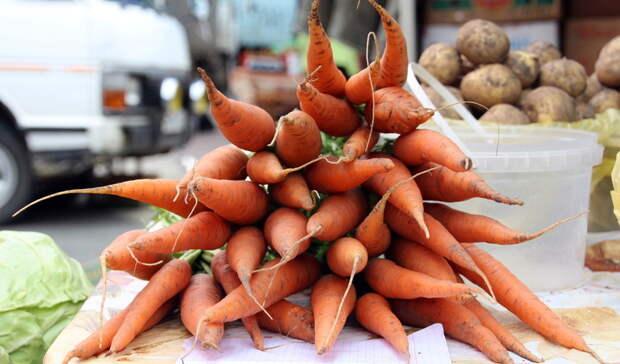 Белгородская область заняла второе место подешевизне овощей после Липецка
