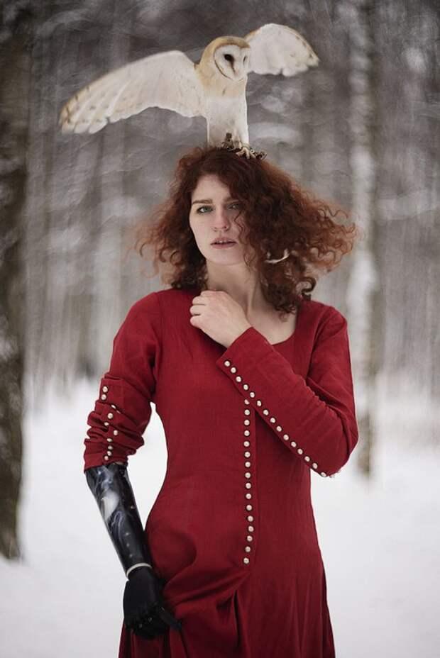 Огненная красота рыжих напортретах питерского фотографа Александры Бочкаревой