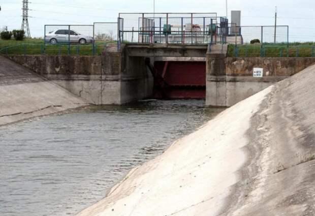 На Украине сообщили о странной ситуации в Северо-Крымском канале