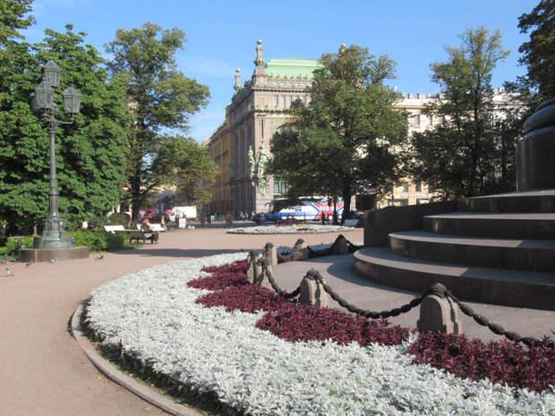 Тёплая петербургская осень