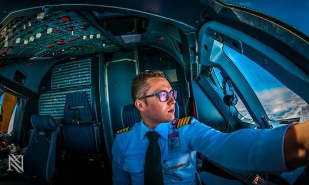 fromcockpit26 25 фотографий, сделанных пилотами из кабин самолетов