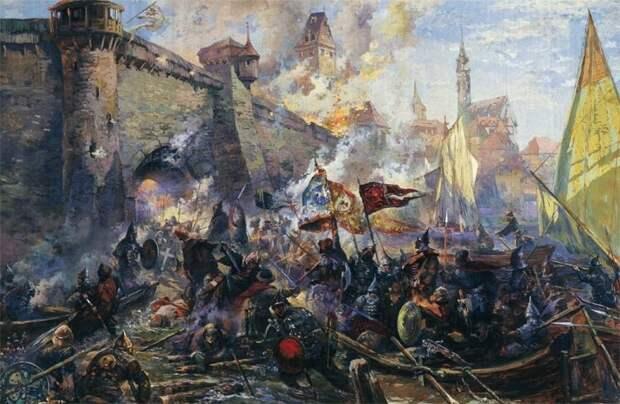 Какое новейшее оружие помогло Ивану Грозному взять Казань