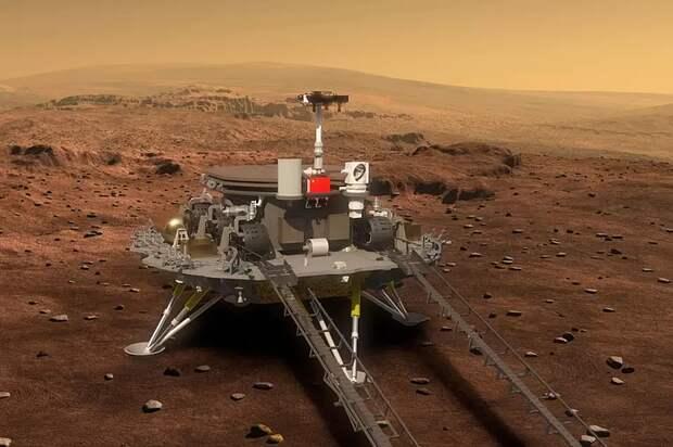 Китай планирует осуществить возвращаемую миссию на Марс к 2030 году