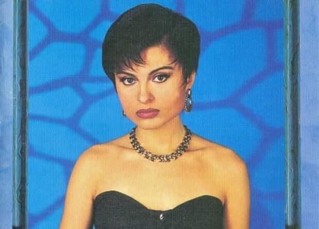 Популярная в 1990-х гг. певица Светлана Владимирская   Фото: discogs.com