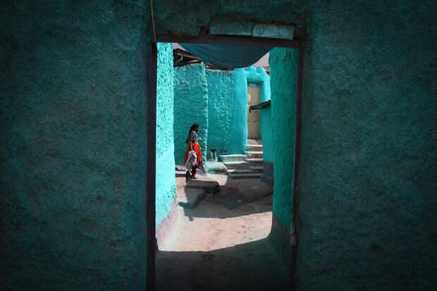 Голубой город. Харар, Эфиопия красота, путешествия, фото