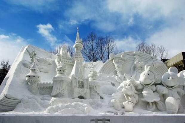 Снежный Диснейленд