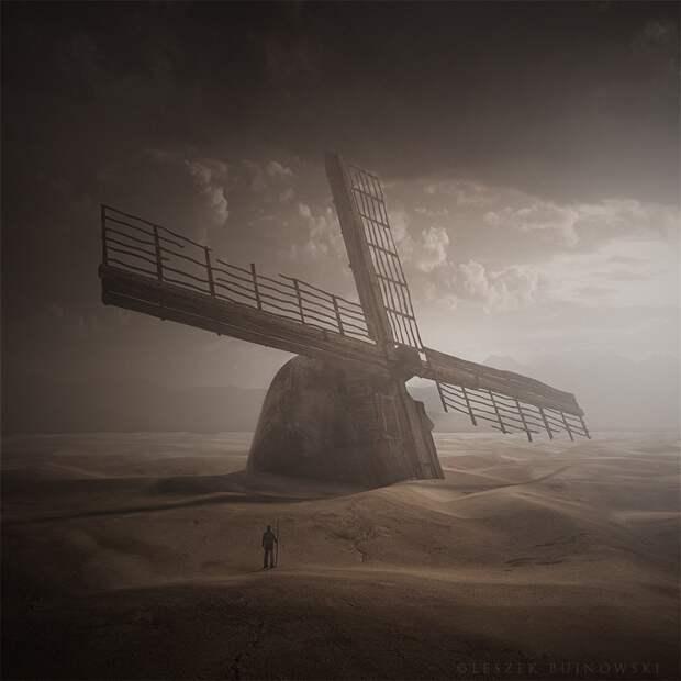 Сюрреалистичные миры на снимках Leszek Bujnowski