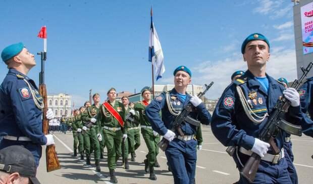 ВСтаврополе прошла генеральная репетиция парада Победы