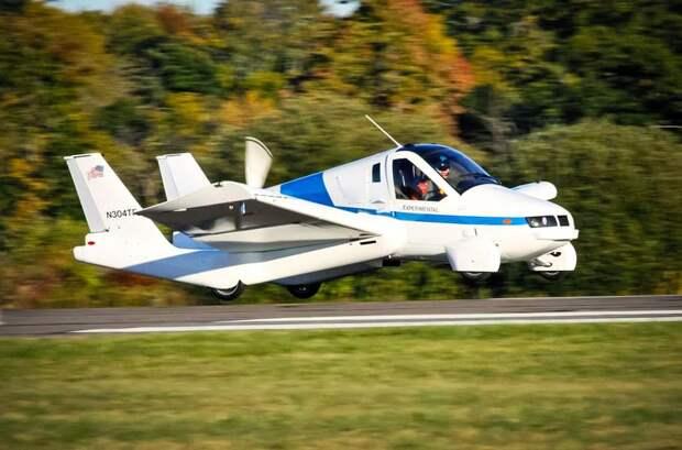 Летающие автомобили: от идеи до воплощения