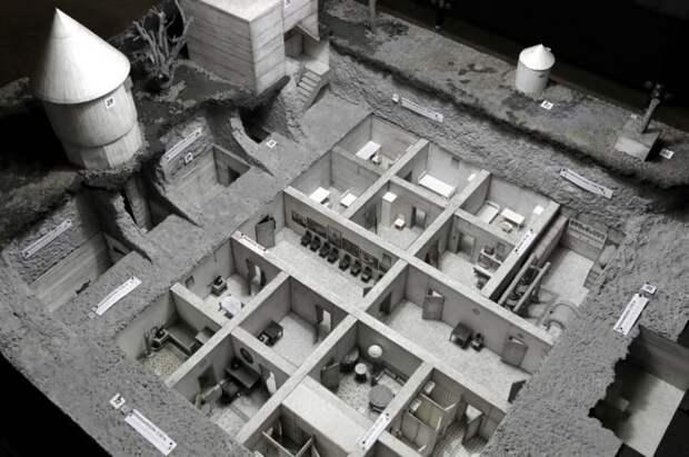Копия бункера Гитлера в Берлине
