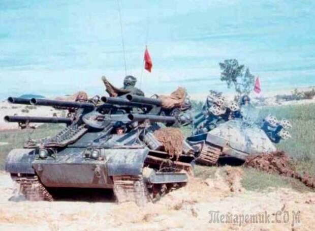 M50 «Онтос» - шестиствольная САУ США