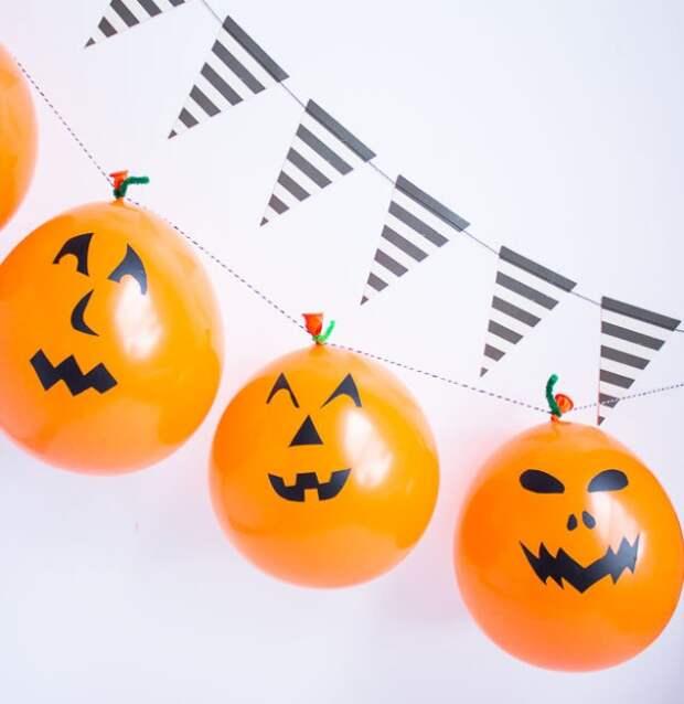 Гирлянда на Хеллоуин (Diy)
