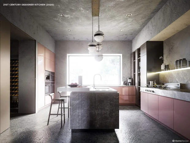От котла к минимализму: дизайнеры показали, как менялся интерьер кухни в течение 500 лет