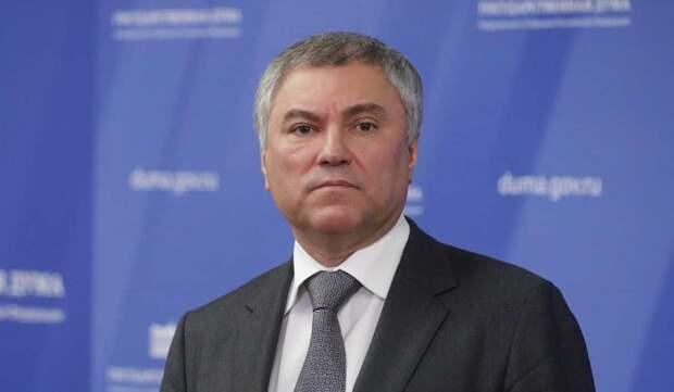 Володин призвал ПАСЕ и ОБСЕ дать оценку происходящему на Украине
