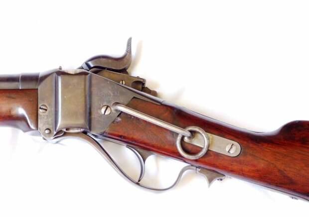Карабин генерала Бернсайда: первый под металлический патрон